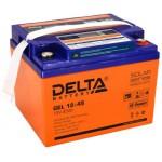 AGM аккумулятор Delta GEL 12-45